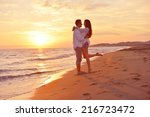 Happy Young Romantic Couple In...