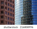 skyscrapers old and new | Shutterstock . vector #216808996