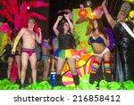 las vegas   sep 05   an... | Shutterstock . vector #216858412