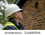 building inspector | Shutterstock . vector #216860956
