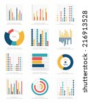 set of infographics elements | Shutterstock .eps vector #216913528