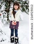 Cute Kid Girl In Sweater...