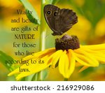 Inspirational Quote On Nature...
