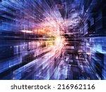 city lights series. backdrop... | Shutterstock . vector #216962116