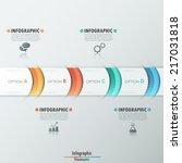 modern infographics options... | Shutterstock .eps vector #217031818