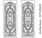 Graphic Ornament For Doors And...