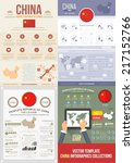 flat national infographics... | Shutterstock .eps vector #217152766