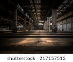 Large Industrial Hall Of A...