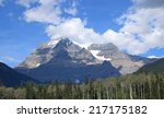 mount robson  mount robson... | Shutterstock . vector #217175182
