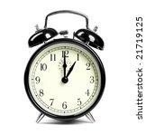 alarm clock | Shutterstock . vector #21719125