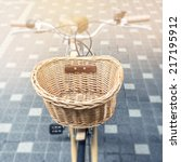 Bicycle Basket Vintage...