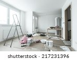 Home Renovation In Room Full O...