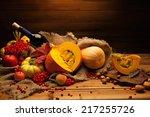 Thanksgiving Day Autumnal Stil...