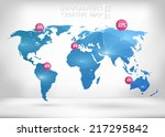 abstract creative concept... | Shutterstock .eps vector #217295842