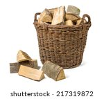 Wicker Basket Filled With...