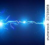 lightning abstract background.... | Shutterstock .eps vector #217330858