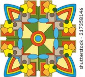 circular pattern   Shutterstock . vector #217358146