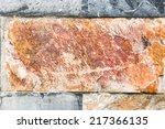 stone background textures | Shutterstock . vector #217366135