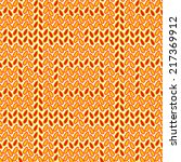 seamless pattern with hand... | Shutterstock .eps vector #217369912