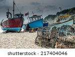Fishing Boats On Beer Beach ...