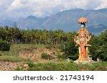 hindu statue in kerala  south... | Shutterstock . vector #21743194