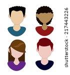 people design graphic  vector... | Shutterstock .eps vector #217443226