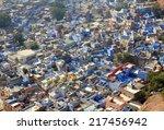 jodhpur blue city   rajasthan... | Shutterstock . vector #217456942