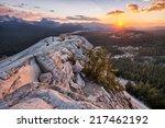 View Of Yosemite National Park...