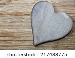 Wooden Heart For Love