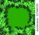 green leaf   Shutterstock . vector #217489195