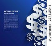 Vector Illustration. Dollar...