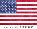 usa flag | Shutterstock . vector #217565458