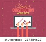 Website Under Construction Flat ...