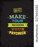 Make Your Passion Your Paychec...