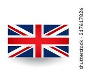 united kingdom flag | Shutterstock .eps vector #217617826