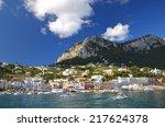 Capri  Italy   August 18  2014  ...