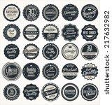premium  quality retro vintage... | Shutterstock .eps vector #217632982