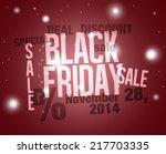 black friday | Shutterstock . vector #217703335