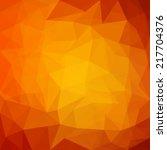 Abstract Orange Geometrical...