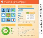 startup infographic. vector... | Shutterstock .eps vector #217788316
