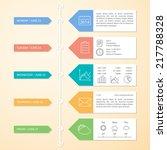 timeline infographics design... | Shutterstock .eps vector #217788328