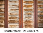 Wooden Planks Surface With...