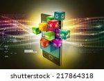 application icon concept | Shutterstock . vector #217864318