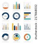 set of infographics elements | Shutterstock .eps vector #217868032