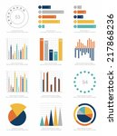 set of infographics elements | Shutterstock .eps vector #217868236