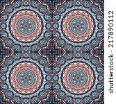 indian seamless pattern.... | Shutterstock .eps vector #217890112