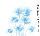 Vector Background With Blue...