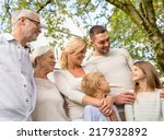 family  happiness  generation ... | Shutterstock . vector #217932892