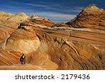 a beautiful sandstone wave... | Shutterstock . vector #2179436