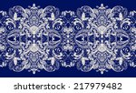 lace background. seamless... | Shutterstock . vector #217979482